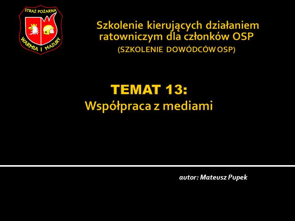 autor: Mateusz Pupek