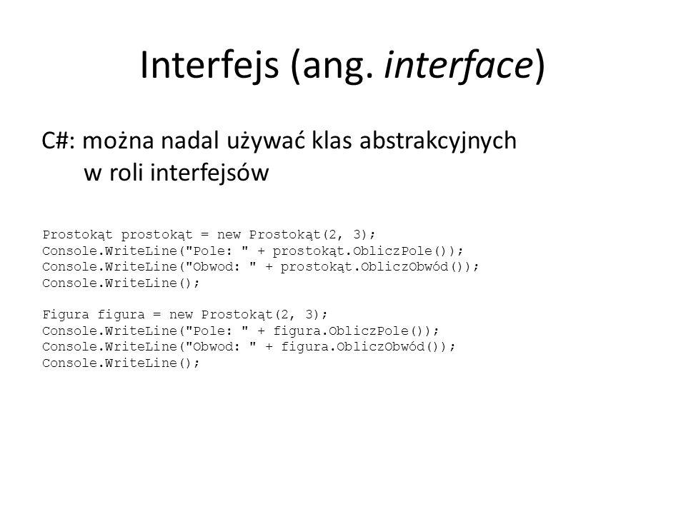 Interfejs (ang.