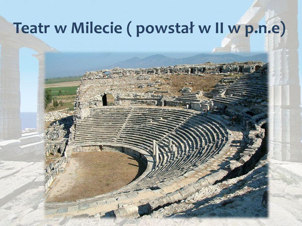 Teatr w Milecie ( powstał w II w p.n.e)