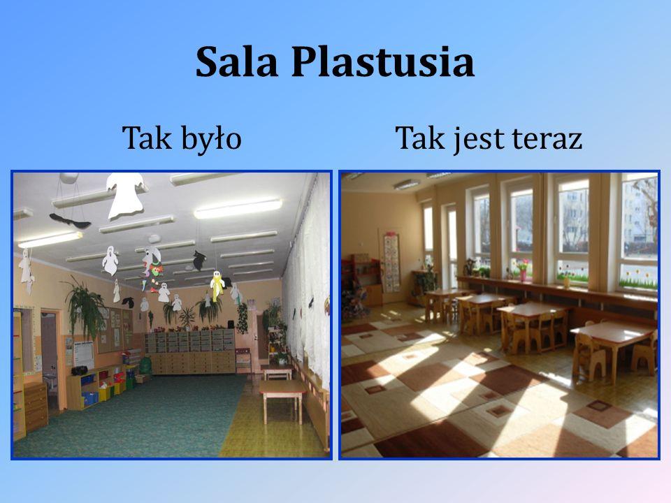 Sala Plastusia Tak byłoTak jest teraz