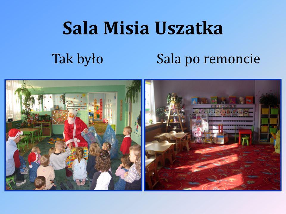 Sala Misia Uszatka Tak byłoSala po remoncie
