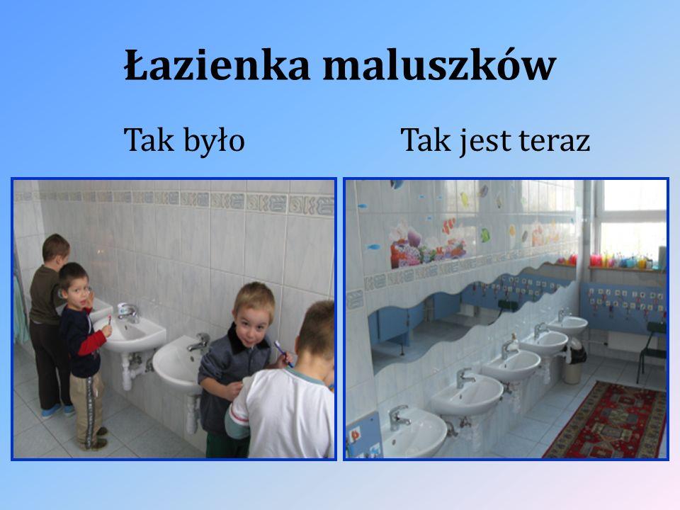 Łazienka maluszków Tak byłoTak jest teraz