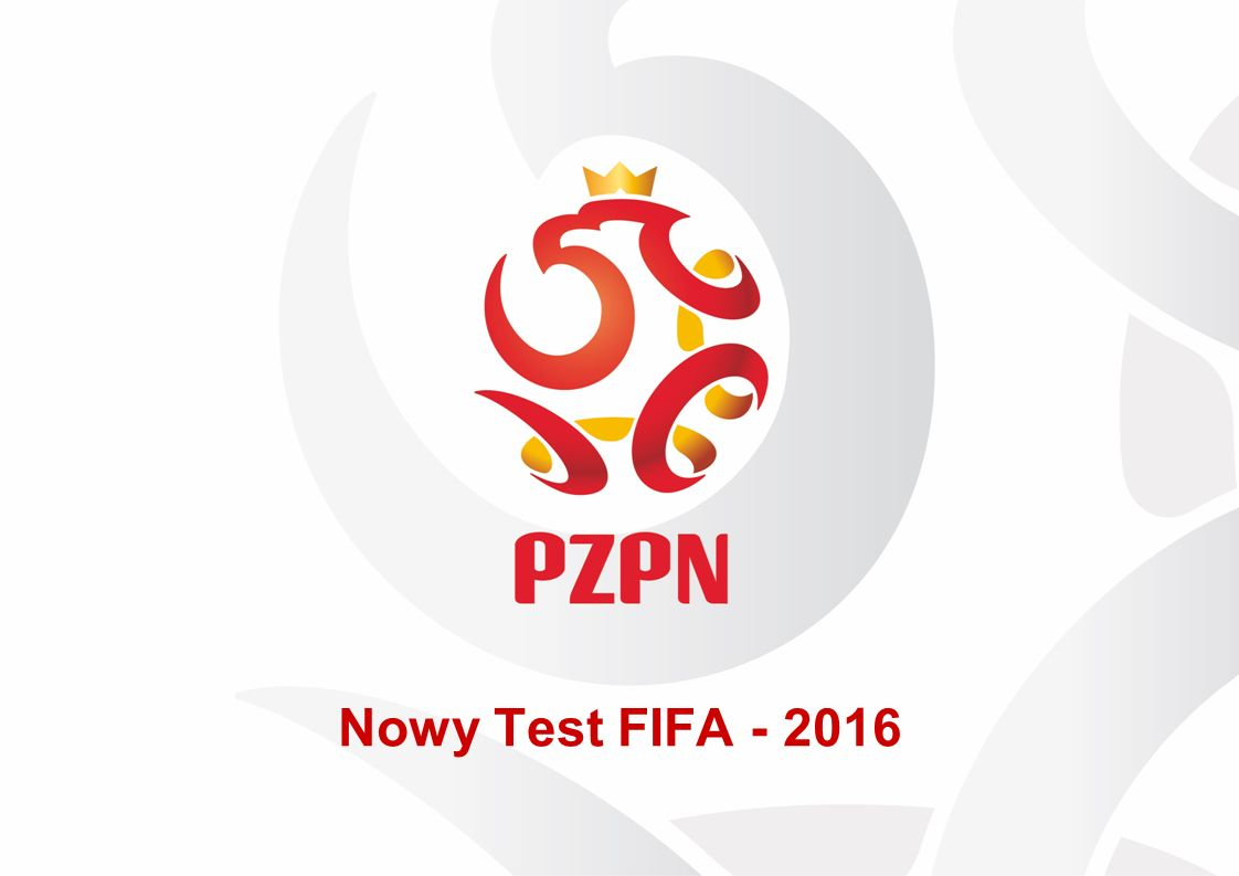 Nowy Test FIFA - 2016