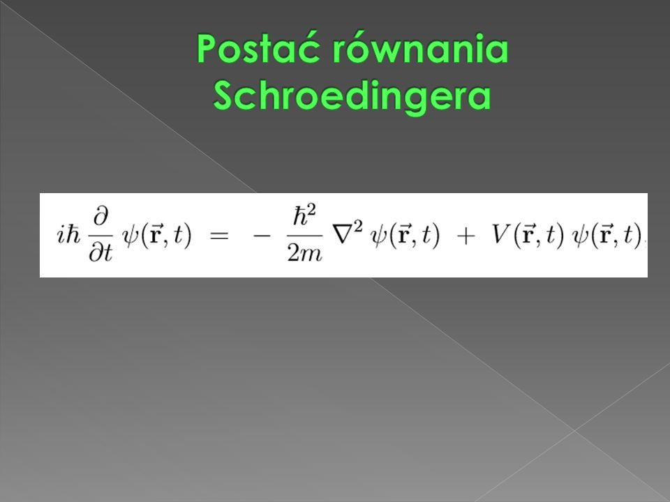  1.Lewa strona równania zawiera jednostkę urojoną i=√−1.
