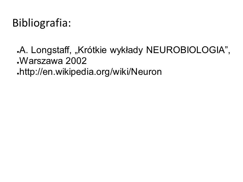 Bibliografia: ● A.
