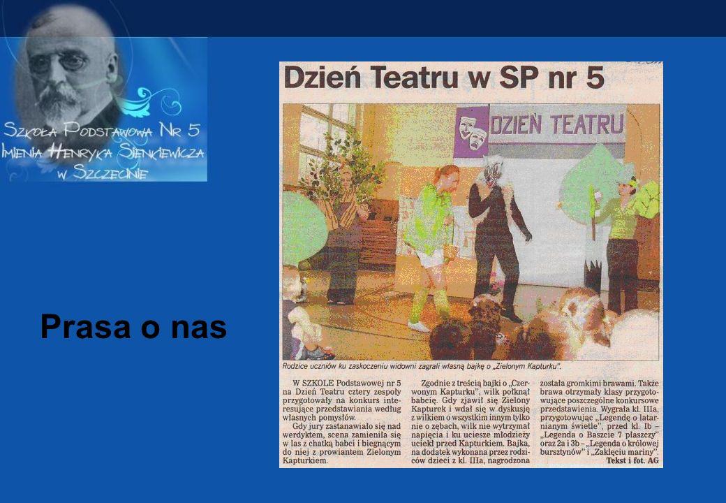 Inicjatywa rodziców Zielony Kapturek Przeróbka bajki o Czerwonym Kapturku w której Wilk ucieka przed zrzędliwym Zielonym Kapturkiem.