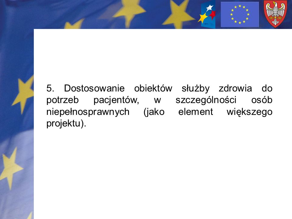 Minimalna/ maksymalna wartość projektu: Projekty inwestycyjne- minimalna wartość 500 tys.PLN Zakup wyposażenia- minimalna wartość 250 tys.