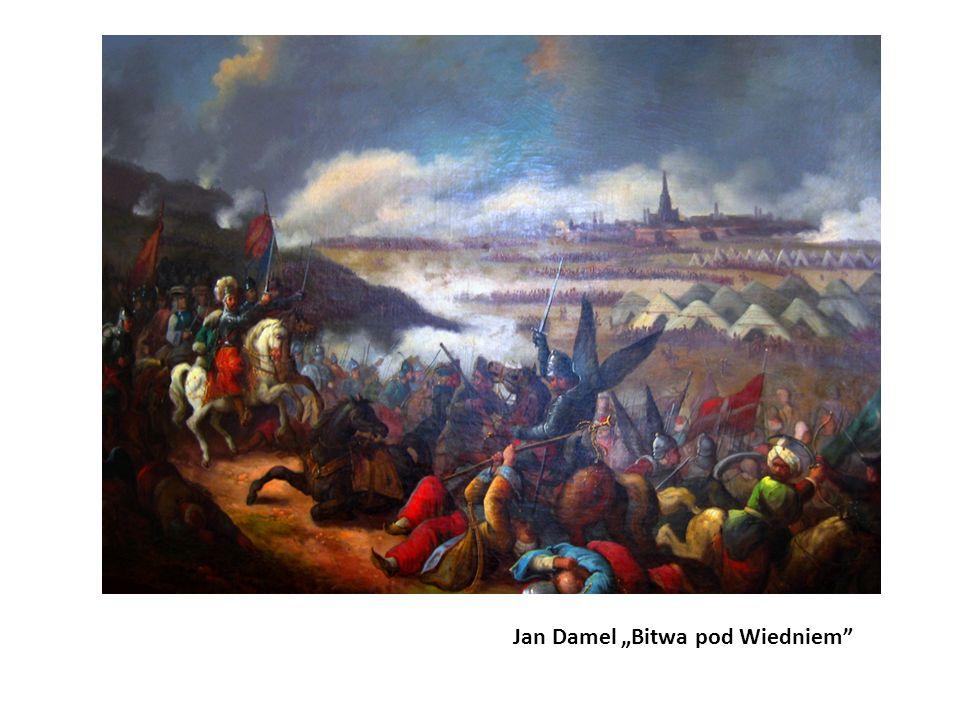 """Jan Damel """"Bitwa pod Wiedniem"""