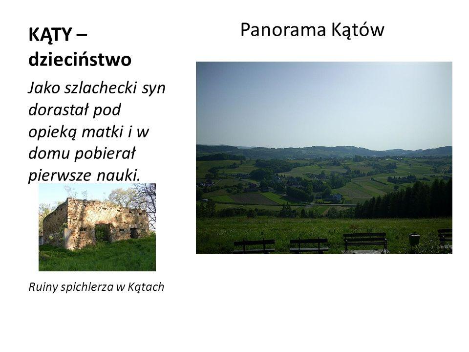 KRAKÓW – wczesna młodość Zgodnie z ówczesną tradycją jako piętnastoletni chłopiec rozpoczął naukę na Akademii Krakowskiej.
