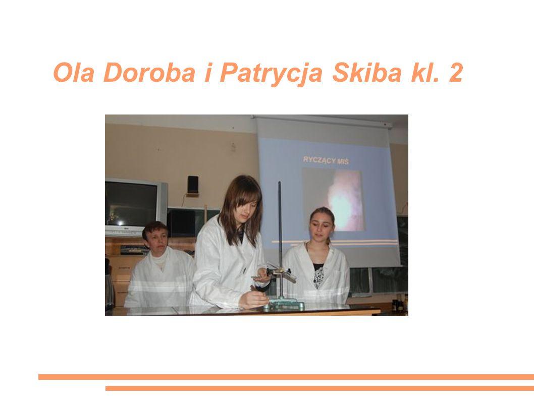 Ola Doroba i Patrycja Skiba kl. 2