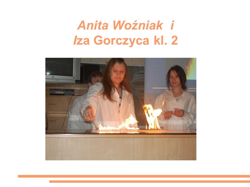 Anita Woźniak i Iza Gorczyca kl. 2