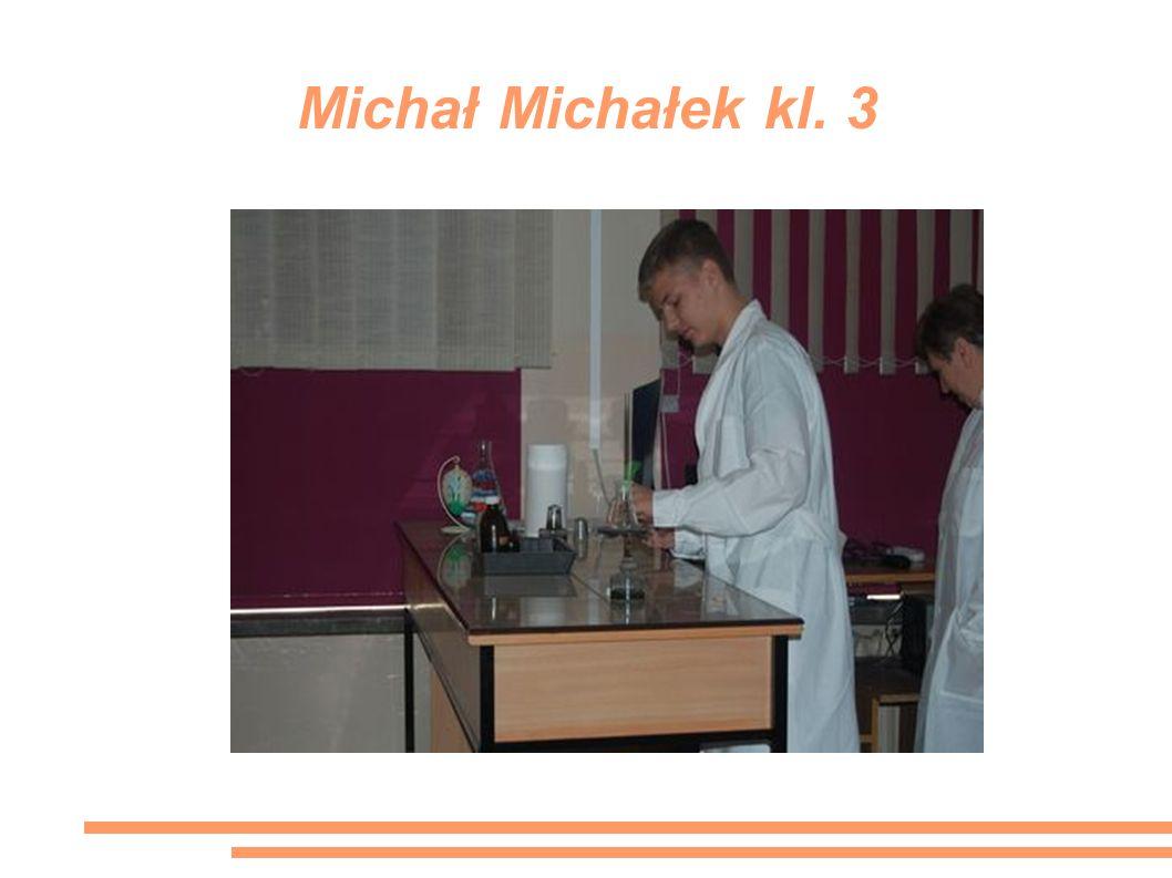 Michał Michałek kl. 3