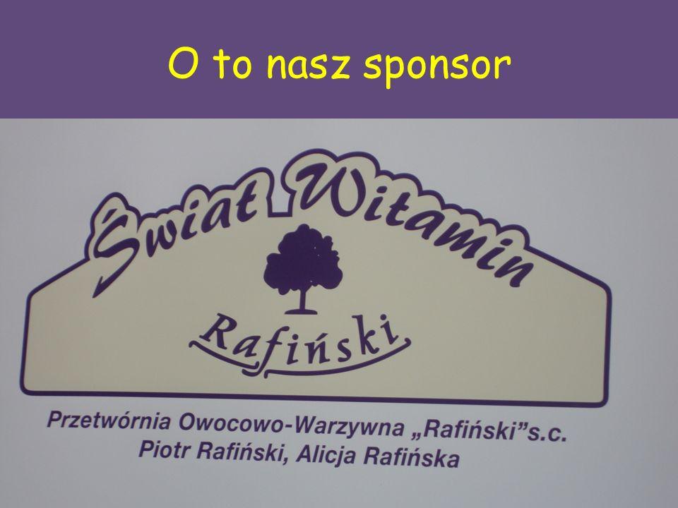 O to nasz sponsor