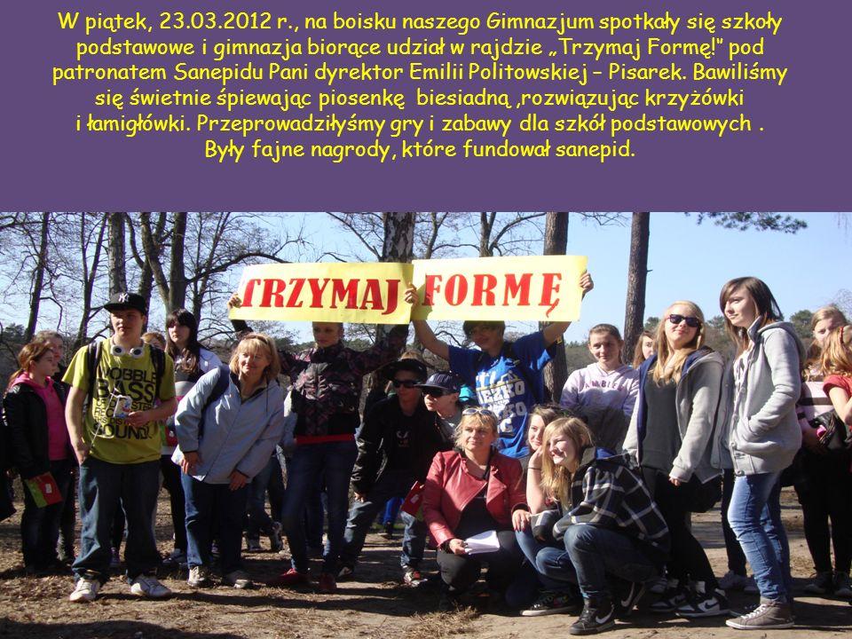 W połowie rajdu mieliśmy przerwę w Leśniczówce Łuba, gdzie zrobiliśmy wywiad z Panem leśniczym Olewnikiem.