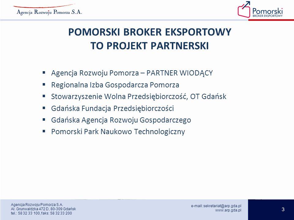 3 e-mail: sekretariat@arp.gda.pl www.arp.gda.pl Agencja Rozwoju Pomorza S.A.