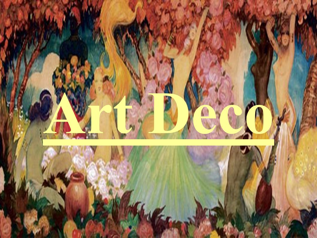 Co to jest Art Deco.Art déco – jest to styl rozpowszechniony w latach 1919– 1939.