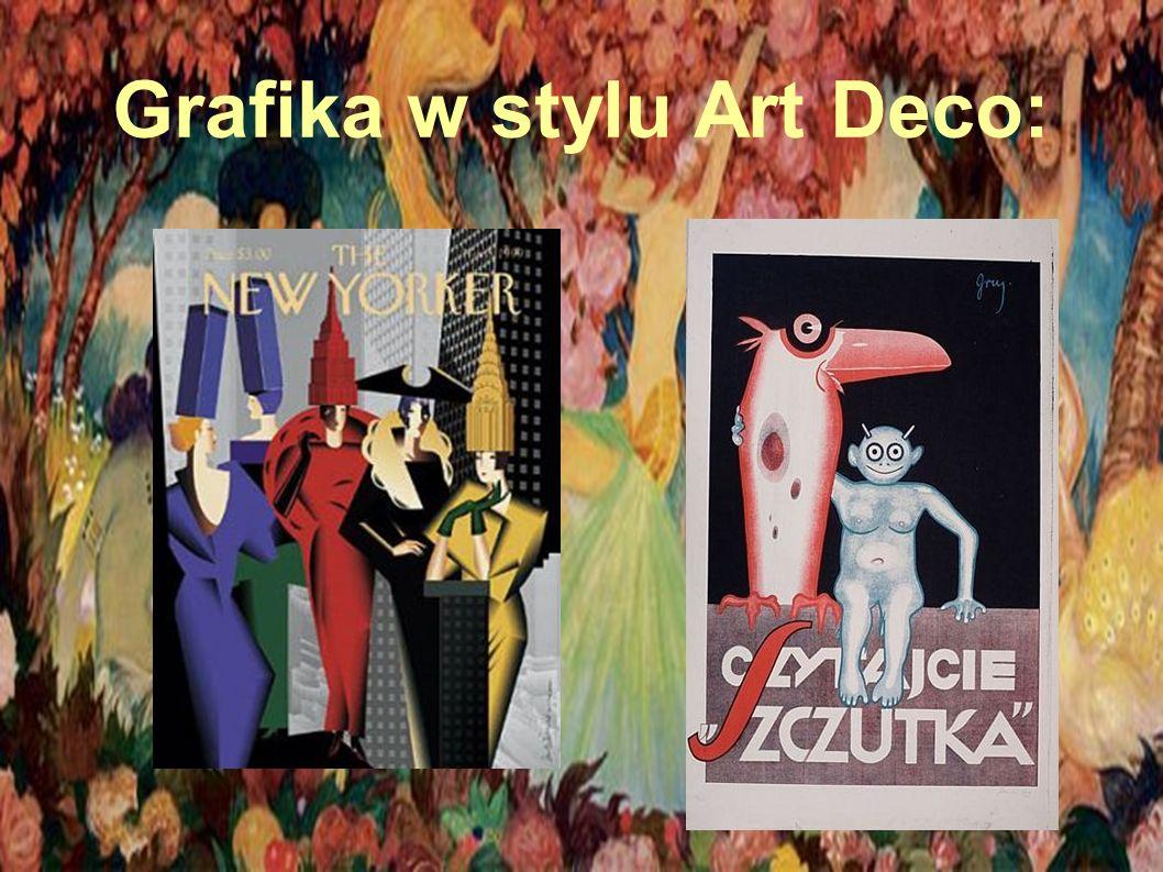 Grafika w stylu Art Deco: