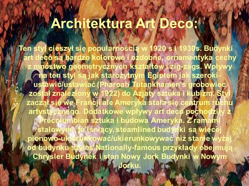 Innym przykładem art deco są meble projektowane przez Le Corbusiera czy ostatniego dyrektora Bauhausu, Miesa van der Rohe.