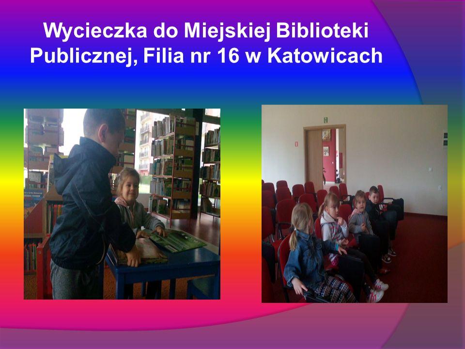 Wycieczka do Miejskiej Biblioteki Publicznej, Filia nr 16 w Katowicach