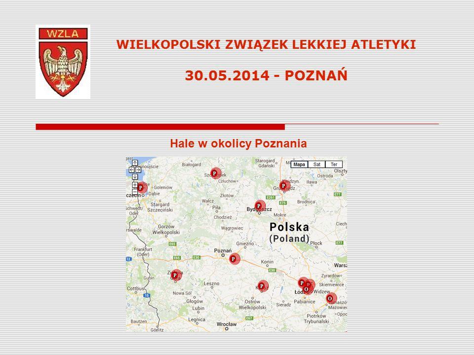 Hale w okolicy Poznania