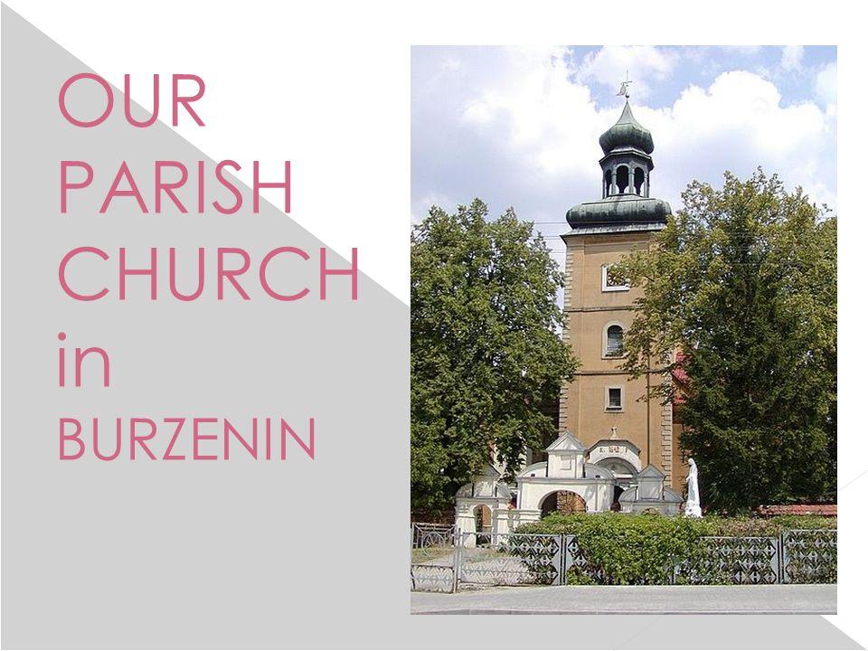 THE LOCAL TOWN HALL IN BURZENIN: