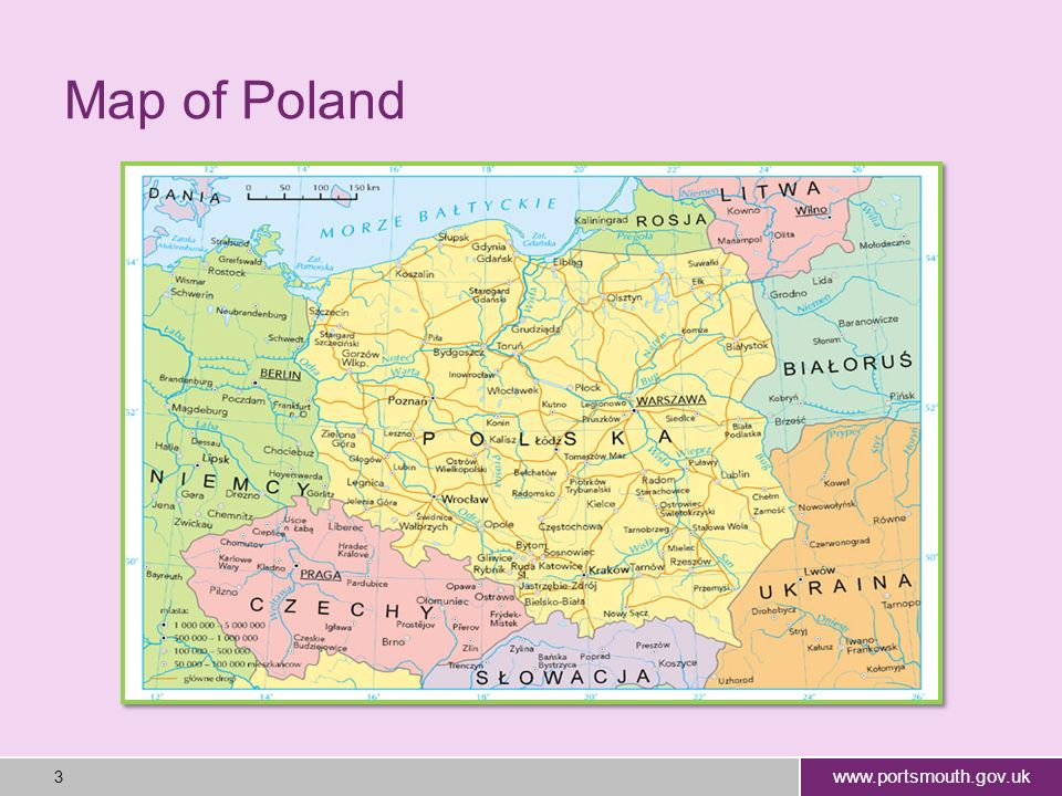 www.portsmouth.gov.uk 4 The capital of Poland is Warsaw.