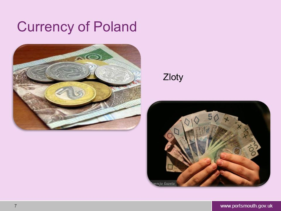 www.portsmouth.gov.uk 8 Religions in Poland Polish people are usually Roman Catholics Roman Catholic 89.8% (about 75% practising) Eastern Orthodox 1.3% Protestant 0.3% Other 0.3% Unspecified 8.3% Ostromecko kosciol