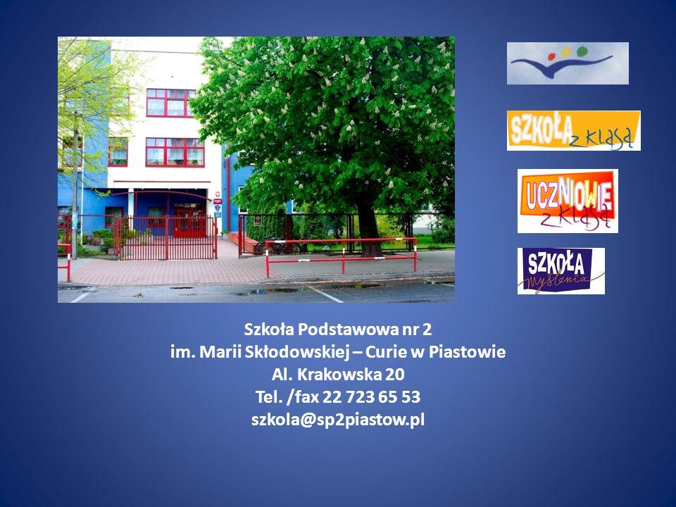 Szkoła Podstawowa nr 2 im. Marii Skłodowskiej – Curie w Piastowie Al.