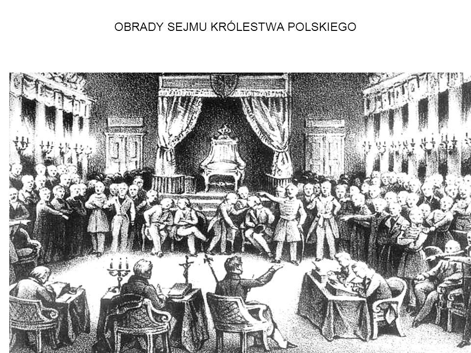 OBRADY SEJMU KRÓLESTWA POLSKIEGO
