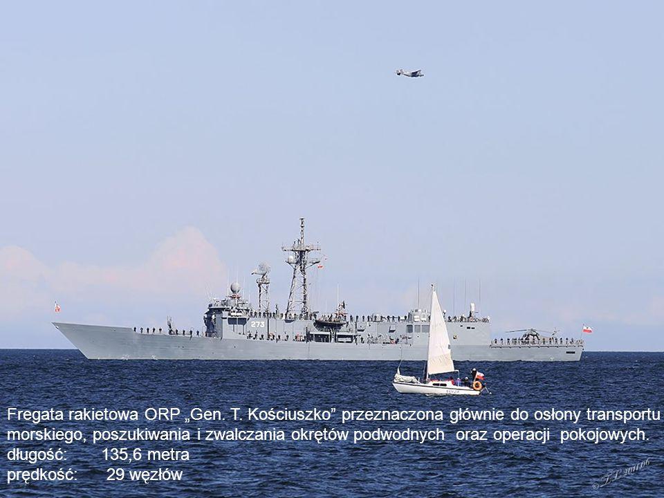 """Fregata rakietowa ORP """"Gen.T."""