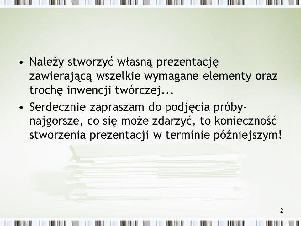 1 Technologie Informacyjne MS Power Point – podstawy dr Olga Dębicka Zakład Gospodarki Elektronicznej