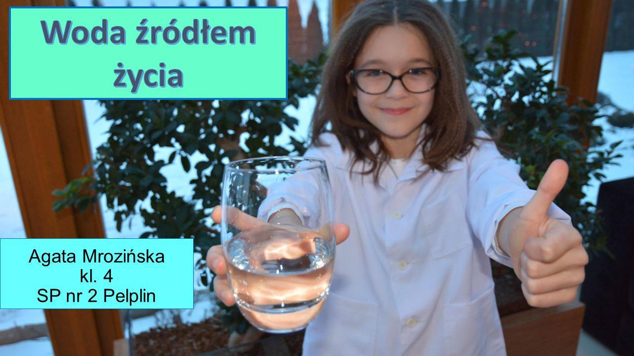 Agata Mrozińska kl. 4 SP nr 2 Pelplin