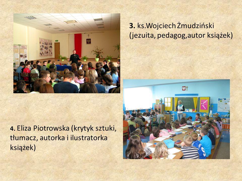 4. Eliza Piotrowska (krytyk sztuki, tłumacz, autorka i ilustratorka książek) 3.
