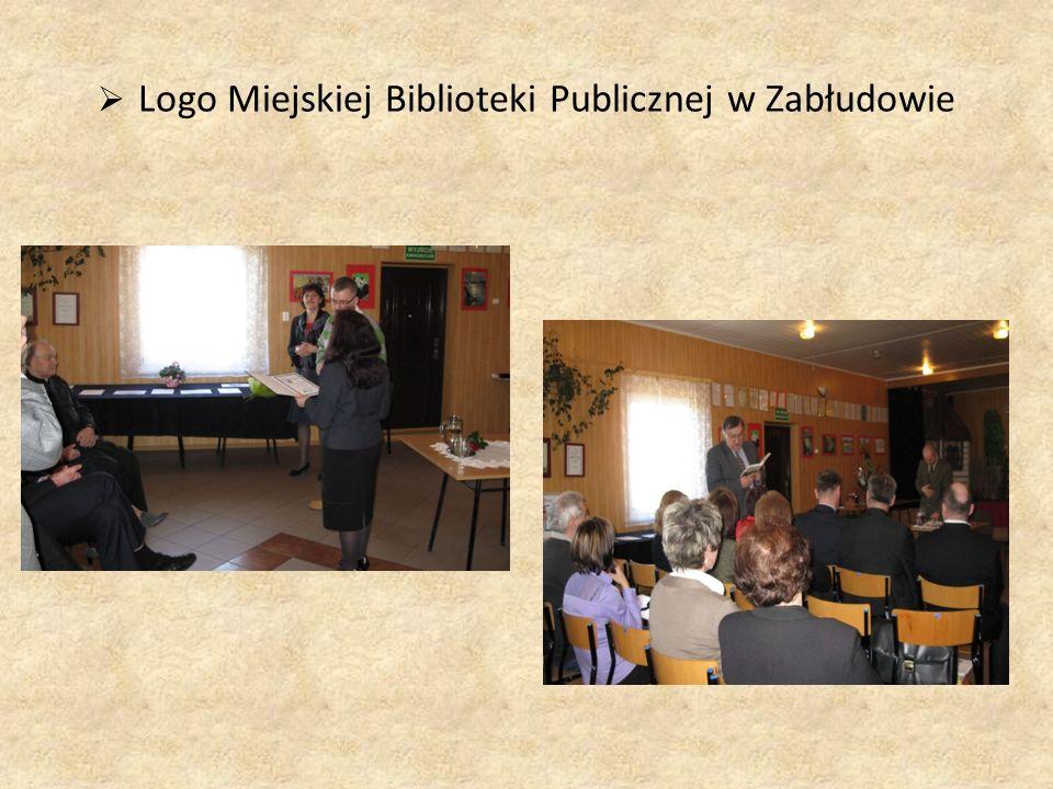  Logo Miejskiej Biblioteki Publicznej w Zabłudowie