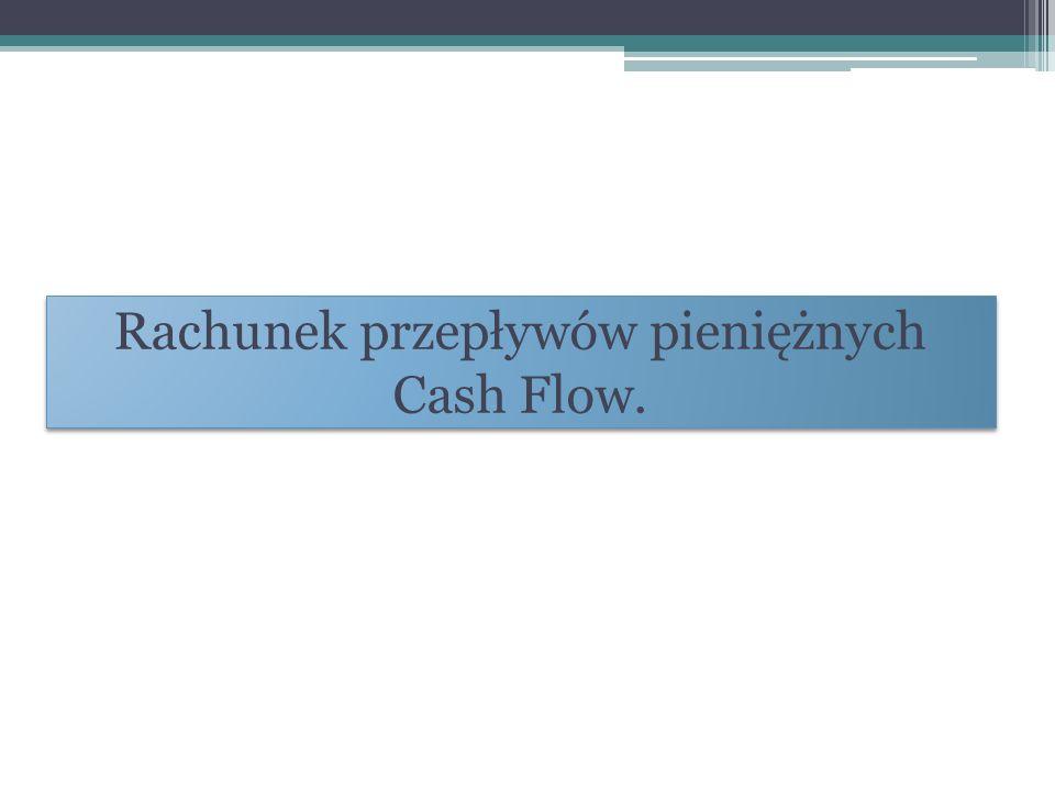 Rachunek przepływów pieniężnych Cash Flow.