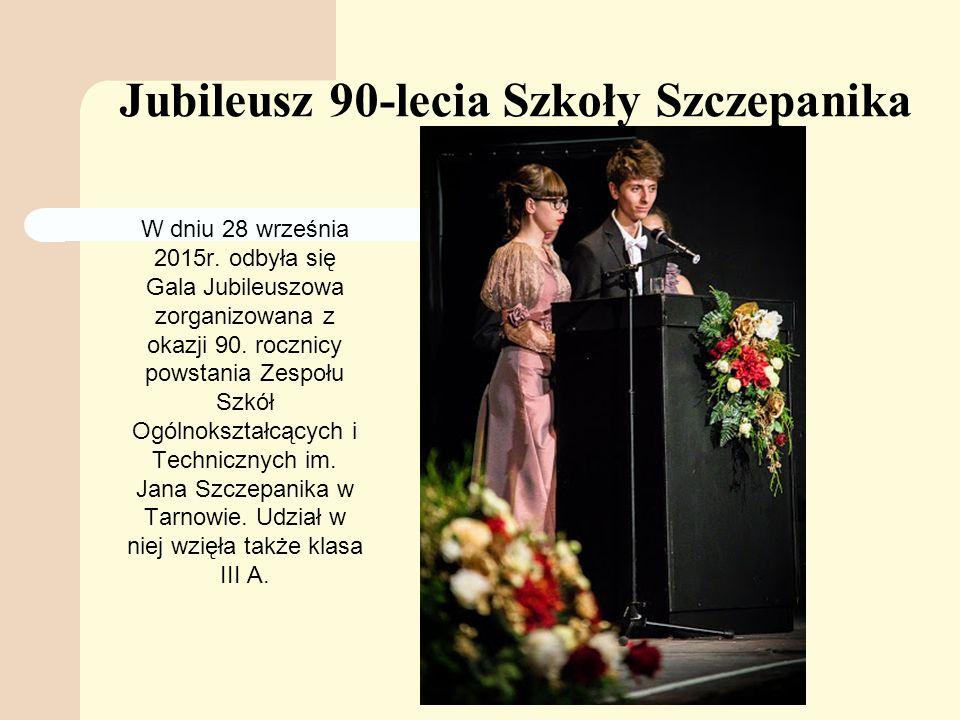 Jubileusz 90-lecia Szkoły Szczepanika W dniu 28 września 2015r.