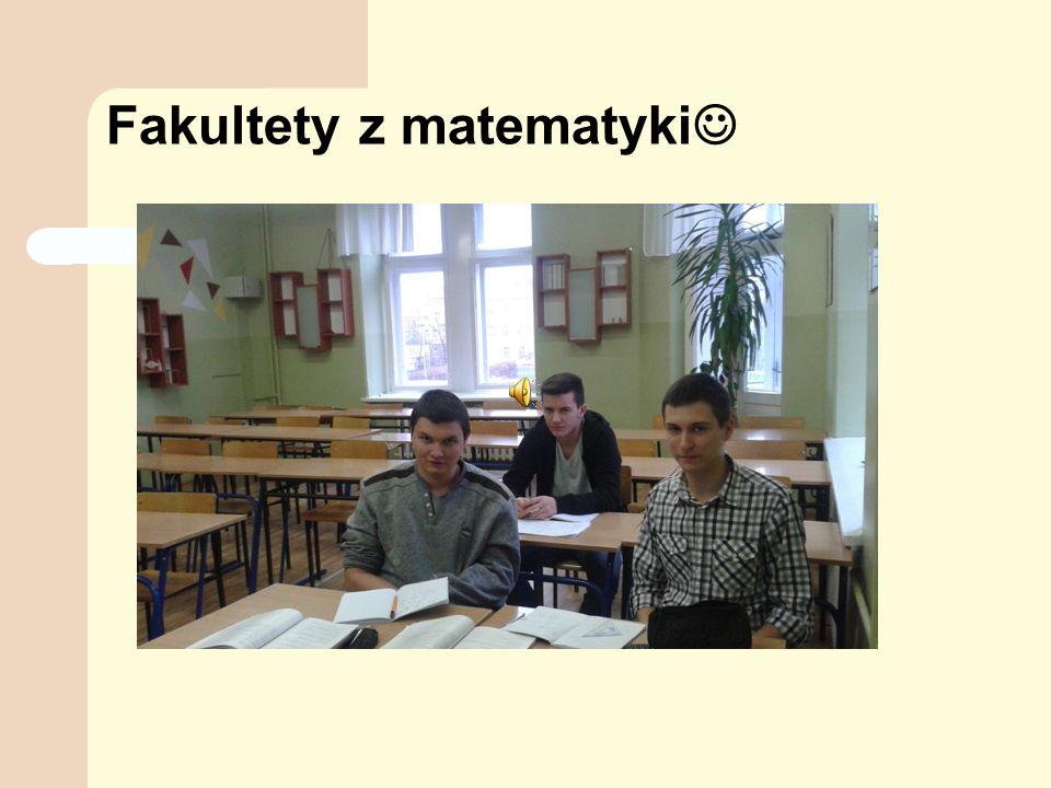 Fakultety z matematyki
