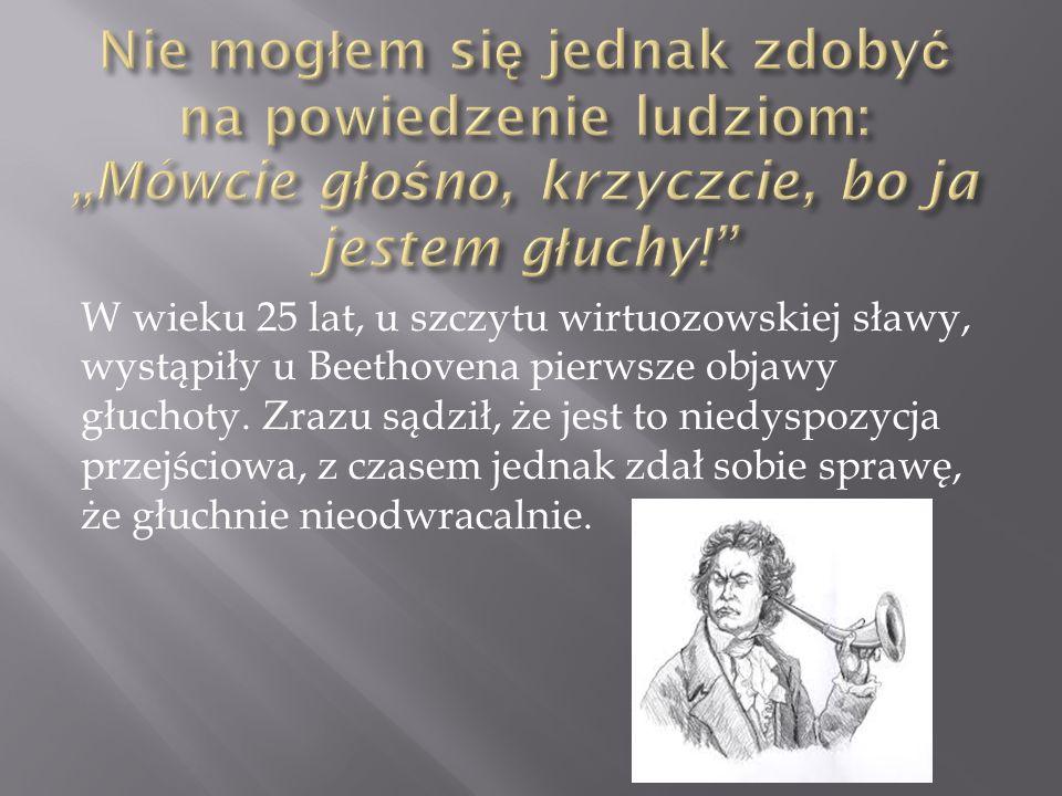 Urodził się 16 lub 17 grudnia 1770 roku w Bonn.