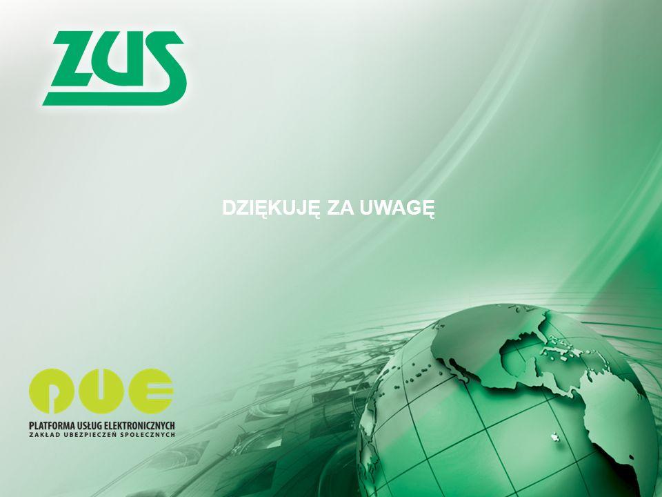 Warszawa, 12.02.2013 r. 14 Kompleksowy System Informatyczny ZUS www.zus.pl – Serwisy 14 DZIĘKUJĘ ZA UWAGĘ