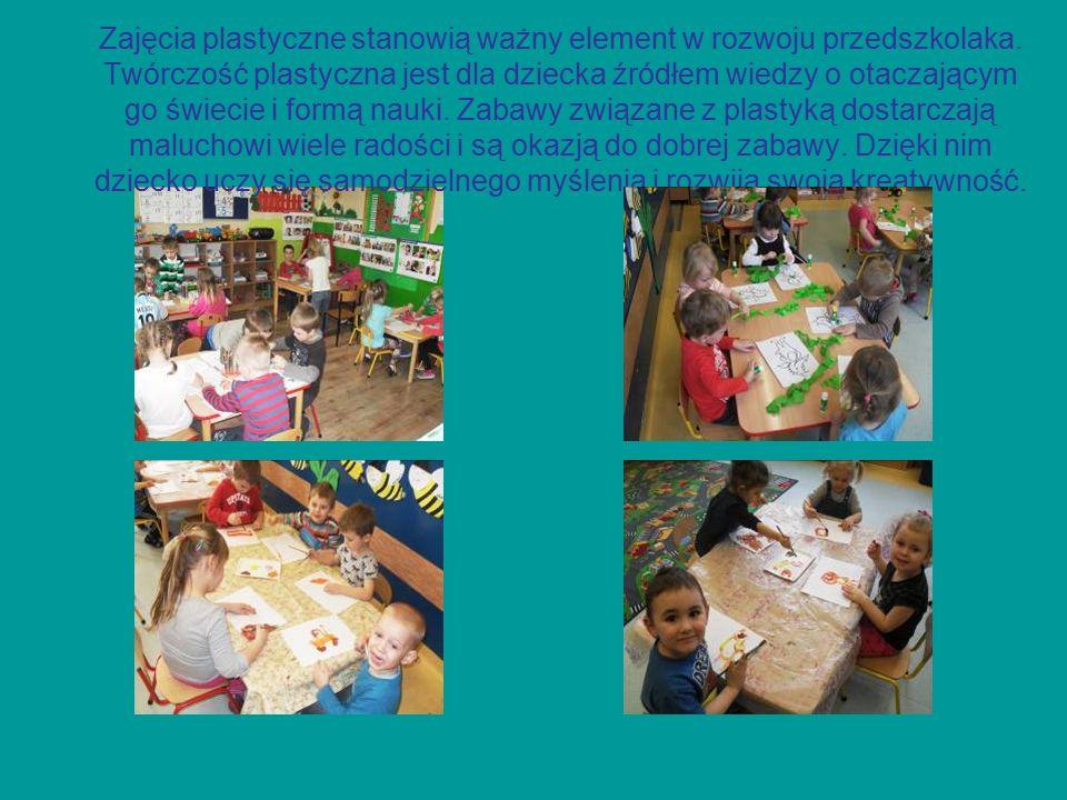 Zajęcia plastyczne stanowią ważny element w rozwoju przedszkolaka.