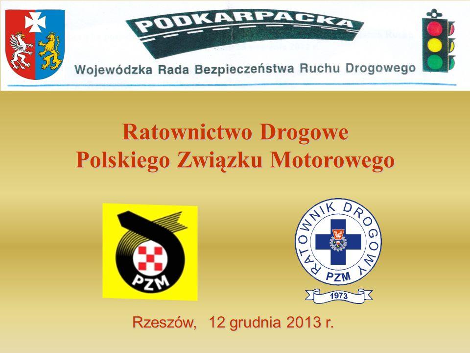 Ratownictwo Drogowe Polskiego Związku Motorowego Rzeszów, 12 grudnia 2013 r.
