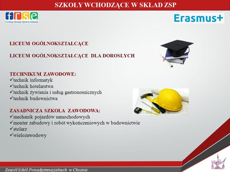 Zespół Szkół Ponadgimnazjalnych w Chojnie
