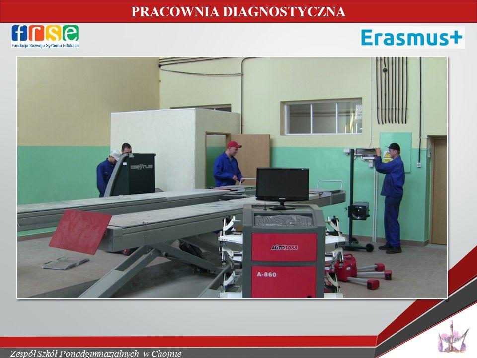 Zespół Szkół Ponadgimnazjalnych w Chojnie PRACOWNIA GASTRONOMICZNA