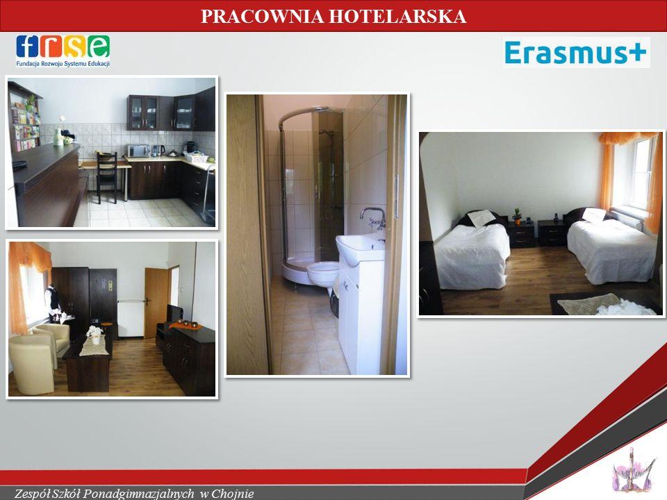 Zespół Szkół Ponadgimnazjalnych w Chojnie PRACOWNIA HOTELARSKA