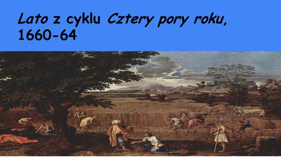Lato z cyklu Cztery pory roku, 1660-64