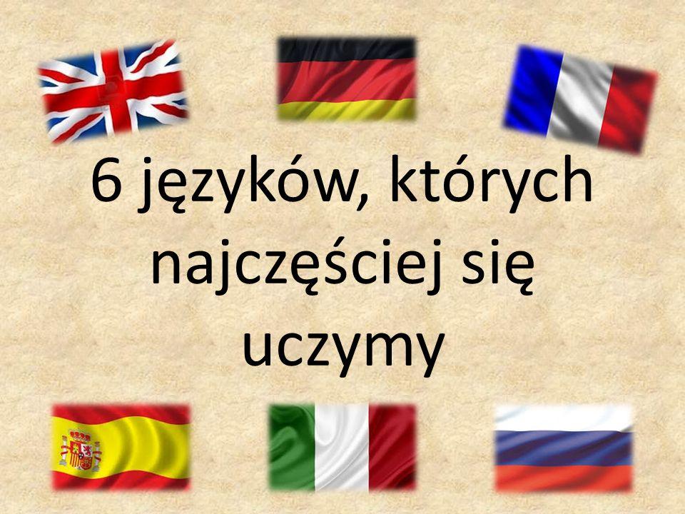 6 języków, których najczęściej się uczymy