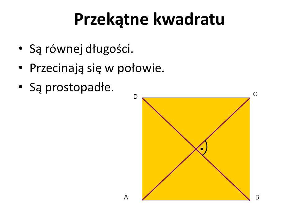 Równoległobok Równoległobok jest szczególnym przypadkiem trapezu równoramiennego - o dwóch parach boków równoległych.