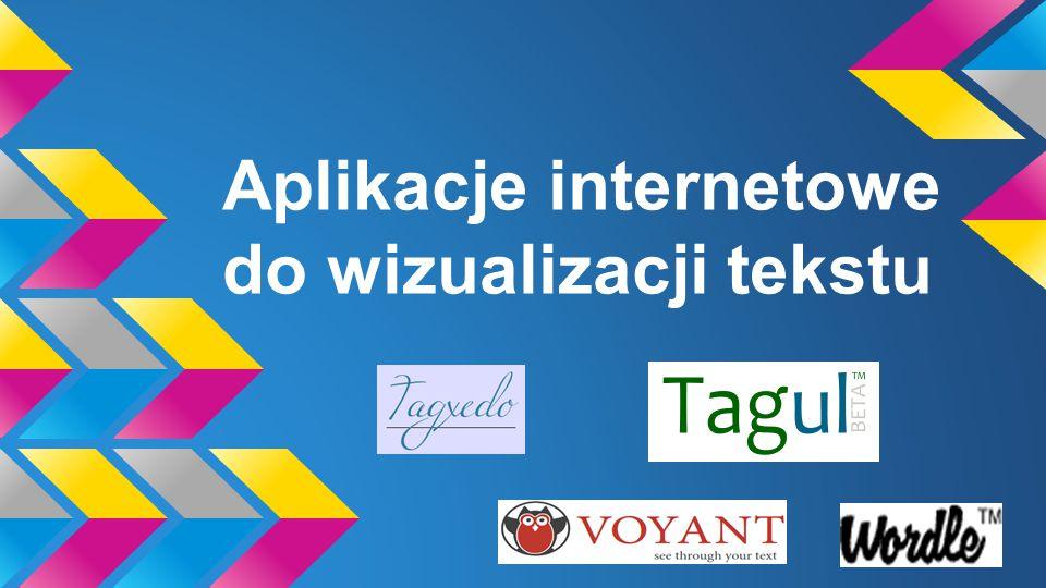 WebQuest - Natalia Zawłocka e- mail - nataliazawlocka@gmail.com Wprowadzenie WebQuest pt Aplikacje internetowe do wizualizacji tekstu poświęcony jest narzędziom internetowym ułatwiającymi funkcionowanie w sieci.