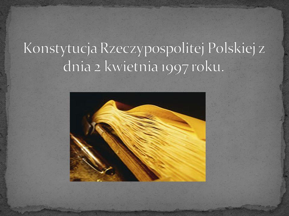 Konstytucja Polskiej Rzeczpospolitej Ludowej uchwalona przez Sejm ustawodawczy w dniu 22 lipca 1952 roku.