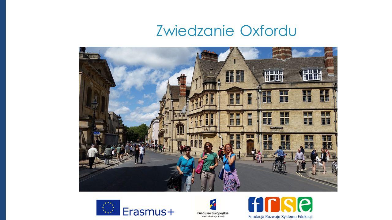 Zwiedzanie Oxfordu